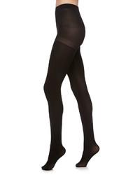 Neiman Marcus Opaque Tights Black