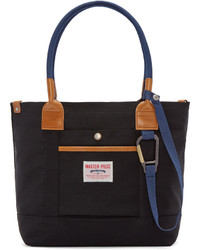 Master-piece Co Black Two Way Tote Bag