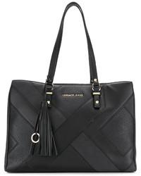 Versace Jeans Paneled Tote Bag