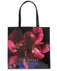 Ted Baker London Large Icon Impressionist Bloom Tote Black