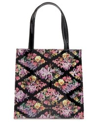 Ted Baker London Lost Gardens Small Icon Tote Black