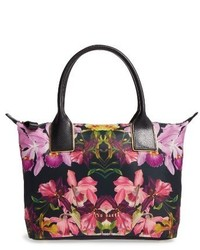 Ted Baker London Small Lost Gardens Tote Black
