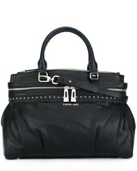 Twin-Set Double Zipped Large Tote