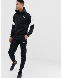 Puma Evostripe Tracksuit In Black