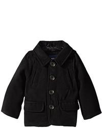 London Fog Baby Boys Classic Single Breast Wool Coat