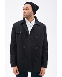 21men 21 Double Breasted Trench Coat