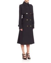 Alexander McQueen Gabardine Trench Coat