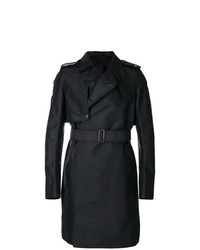 Rick Owens Asymmetric Trench Coat