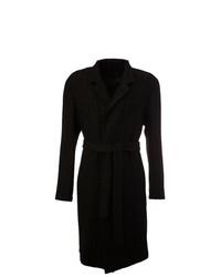 Ann Demeulemeester Belted Coat Black