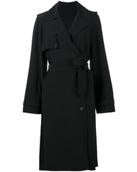Belted mid length trench coat medium 4395271