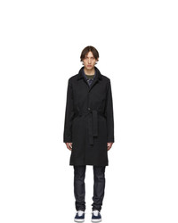 A.P.C. Black Germano Trench Coat