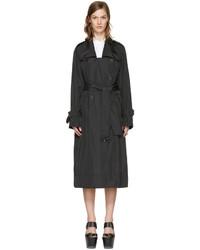 Stella McCartney Black Long Trench Coat