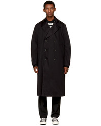 Acne Studios Black Mesa Trench Coat