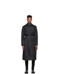 1017 Alyx 9Sm Black Nylon Trench Coat