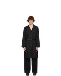 Schnaydermans Black Trench Coat
