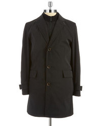 Strellson Button Front Trench Coat