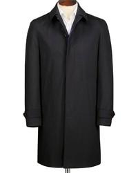 Charles Tyrwhitt Classic Fit Black Raincoat