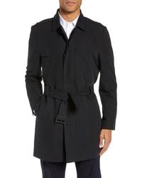 Calibrate Clean Short Trench Coat