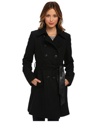 fashionable and attractive package new luxury Women's Black Trenchcoats by DKNY | Women's Fashion ...