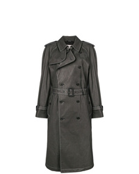 Maison Margiela Contrast Stitch Trench Coat