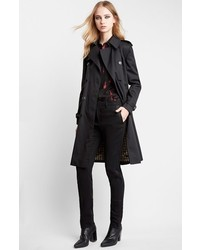 Double breasted trench coat medium 306957