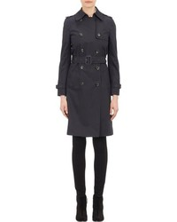 Barneys New York Double Breasted Trench Coat