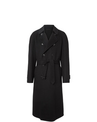 Burberry Double Faced Cashmere Trench Coat