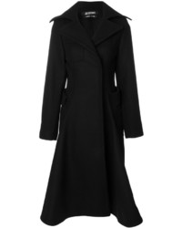 Flared tailored trench coat medium 5206472