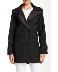 Vince Camuto Hooded Rain Coat