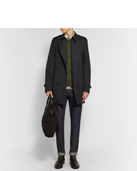 ... Burberry Kensington Mid Length Weatherproof Cotton Gabardine Trench Coat  ... 53afdc3b91a