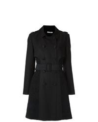 Martha Medeiros Lace Inserts Trench Coat