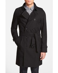 Burberry London Wiltshire Trim Fit Double Breasted Trench Coat