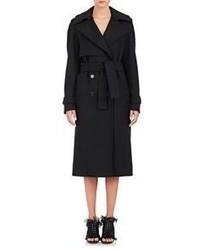 Proenza Schouler Melton Trench Coat Black