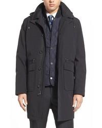 Michael Kors Michl Kors Trim Fit 3 In 1 Hooded Raincoat