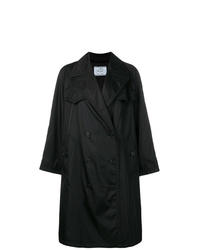 Prada Oversized Double Breasted Trench Coat