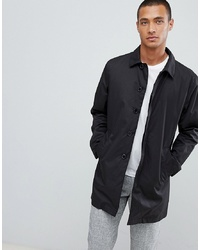 Selected Homme Padded Trench Coat With Organic Cotton