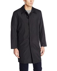 Perry Ellis Poly Bonded Raincoat With Zip Out Liner
