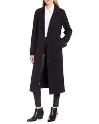 Kenneth Cole New York Ponte Trench Coat