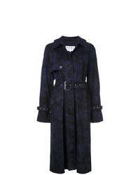 Proenza Schouler Pswl Bleach Dye Trench Coat