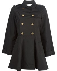 RED Valentino Wide Sleeve Trench Coat