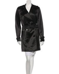 Ralph Lauren Satin Trench Coat W Tags
