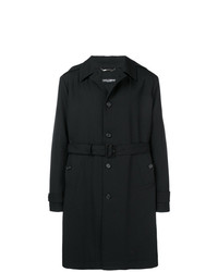 Dolce & Gabbana Single Breasted Trench Coat