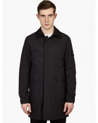 Stone Island Tank Shield Overcoat With Detachable Down Liner