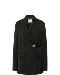 Prada Technical Twill Coat