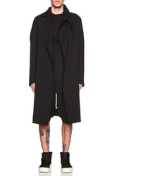 Rick Owens Wool Blend Trench