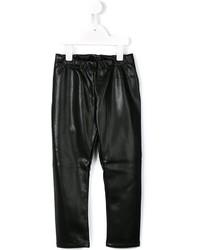Simonetta Leather Effect Trousers