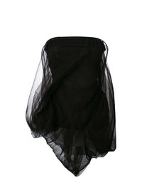 Rick Owens Dirt Twist Strapless Top
