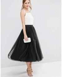 Asos Tulle Prom Skirt With Multi Layers