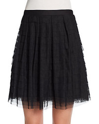 Bcbgmaxazria tiered tulle skirt medium 195944