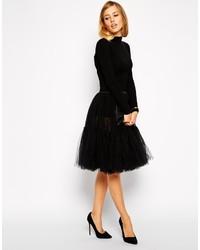 Asos Collection Full Midi Tulle Skirt
